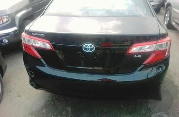 Car Toyota Camry 2012 Black