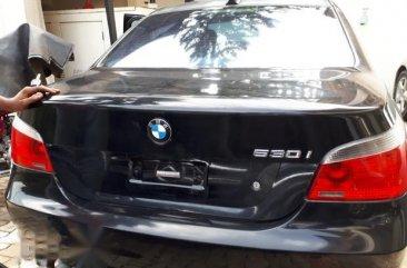 BMW 530i 2008 Black