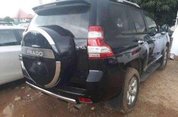 Black Prado jeep