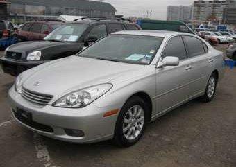 Lexus ES300 2003 silver for sale