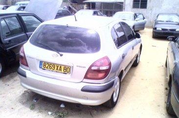 Clean Nissan Almera 2001 silver for sale