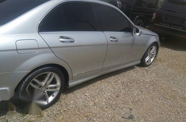 Mercedes Benz C300 2012 Silver For Sale