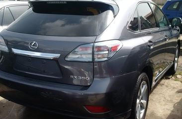 Lexus RX350 2010 in good condition grey for sale
