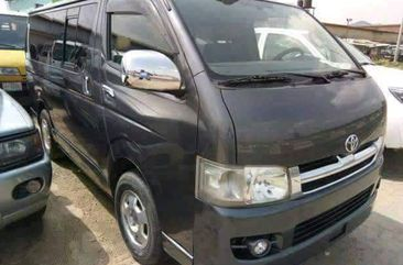 Toyota Hiace 2012 Grey for sale