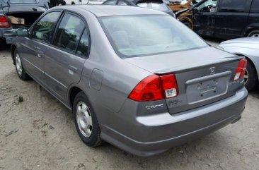 2004 grey Honda Civic for sale