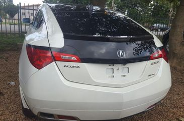 Toks Acura ZDX 2010 white for sale