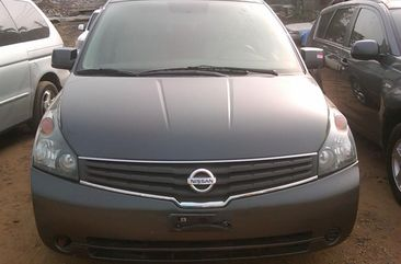 Very Clean Toks 2008 Grey Model Nissan Quest For sale with the fullest option buy and drive vehicle.
