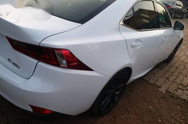 lexus is250 2016 white for sale