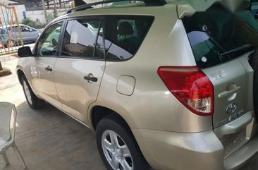 Toyota RAV4 2008 Gold for sale