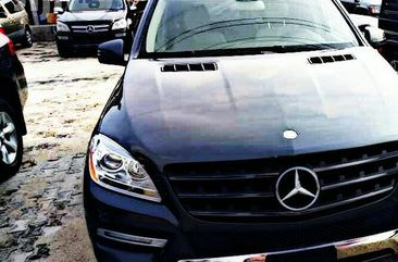 Mercedes-benz ML350 2015 Black for sale