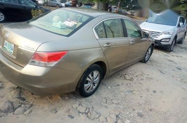 Honda Accord 2008 Gold for sale
