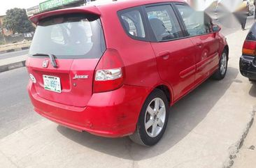 Clean Registered Honda Jazz 2005 Red for sale