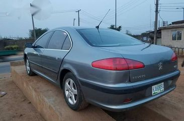 Clean Peugeot 607 2006 Gray for sale