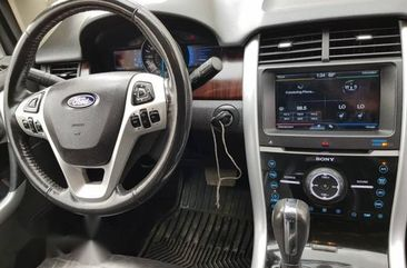 Clean Ford Edge 2011 Silver for sale
