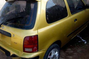 Clean Nissan Micra 2003 Yellow for sale