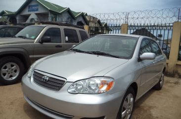 Toyota Corolla LE 2005 silver for sale
