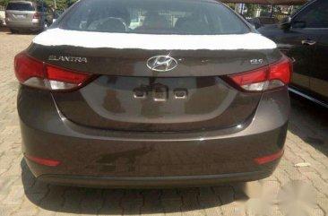 Hyundai Elantra 2016 Brown for sale