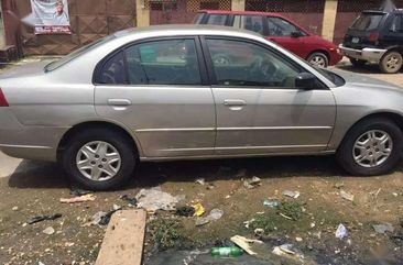 Clean Honda Civic 2004 Silver For Sale