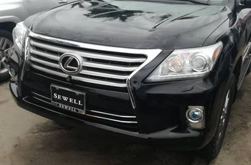 Lexus LX570 2013 Black for sale