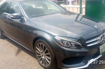 Mercedes-Benz C400 2015 Gray for sale