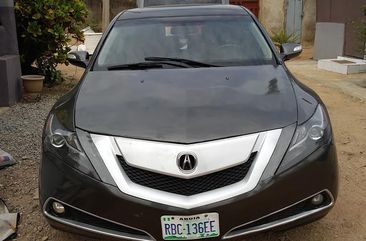 Acura ZDX 2011 Gray for sale