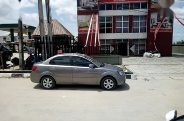 Kia Rio 2010 Gray for sale