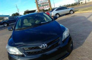 Toyota Corolla 2012 Black for sale