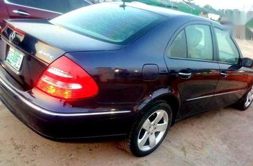 Need to sell super clean black 2006 Mercedes-Benz E500