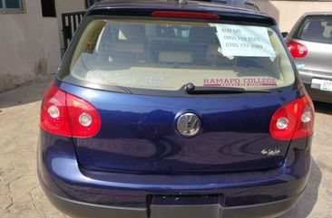 2006 Volkswagen Golf Blue For Sale
