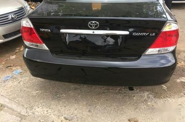 Used black 2005 Toyota Camry sedan for sale at price ₦1,650,000