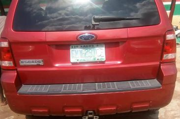 Used red 2008 Ford Edge automatic for sale at price ₦2,500,000