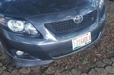 Toyota Corolla 2010 Gray for sale