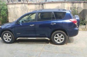 Toyota RAV4 2008 Limited V6 Blue color for sale
