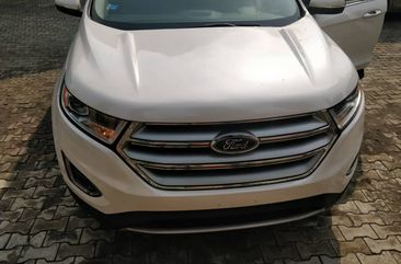 2015 Ford Edge Titanium White for sale