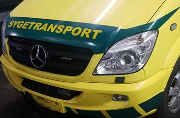 2012 Mercedes Sprinter Ambulance Yellow for sale