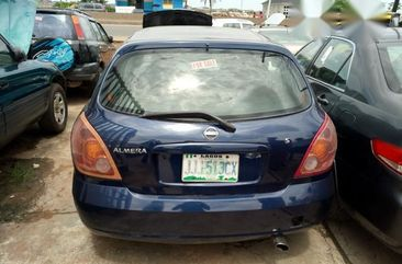 Used blue 2002 Nissan Almera automatic at mileage 88,557 for sale