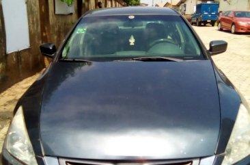 Nigerian Used 2005 Honda Accord LX Automatic Blue Colour