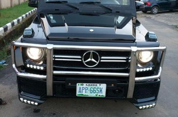 Neatly Nigerian Used 2008 Mercedes-Benz G-Wagon G63 AMG