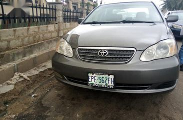 Grey/silver 2005 Toyota Corolla sedan automatic for sale in Ikeja