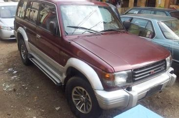 Mitsubishi Pajero 1991 Red for sale.
