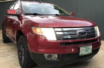 Clean and neat red 2007 Ford Edge suv at price ₦2,150,000 in Lagos