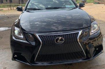 Lexus GS 2007 300 Automatic Black color for sale