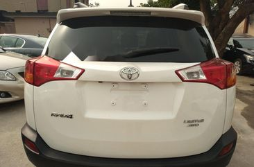 White 2013 Toyota RAV4 automatic at mileage 0 for sale