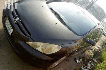 Neatly Used Peugeot 307 Black Car in Lagos