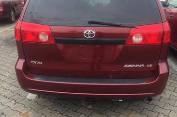 Foreign Used Toyota Sienta 2007 Red