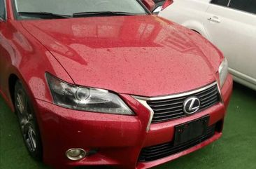 Foreign Used Lexus GS 2013 Red