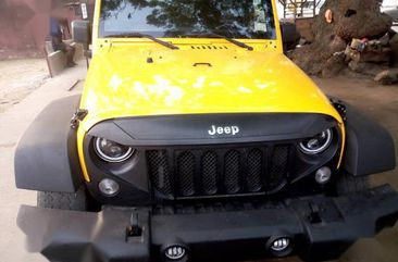 Clean Tokunbo Jeep Wrangler 2015 Yellow