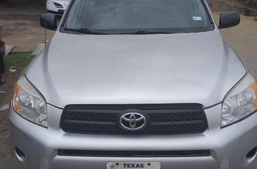 Very Clean Foreign used Toyota RAV4 2007 Sport V6 4x4 Silver