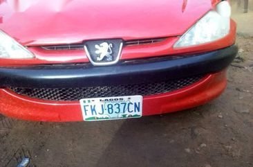 Neat Nigerian used Peugeot 206 2000 Red