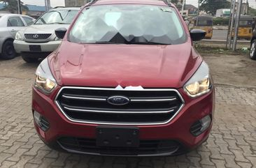 Sell well kept red 2017 Ford Escape suv / crossover automatic